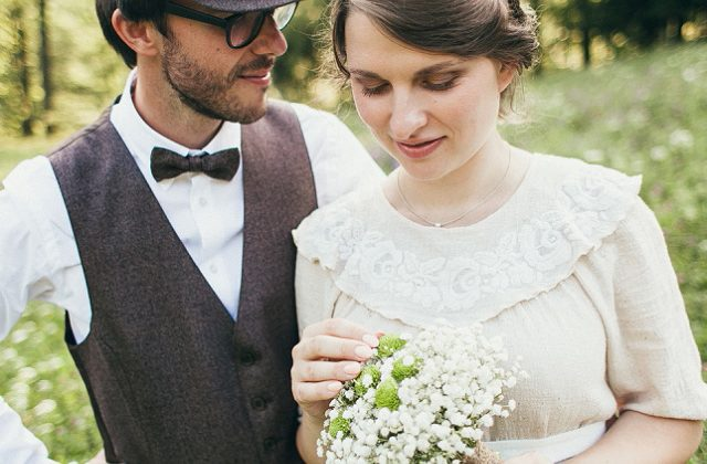 Vintage wedding  |  Tadeja & Simon