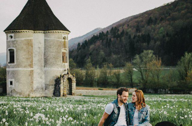 Engagement session  |  Tjaša & Jure