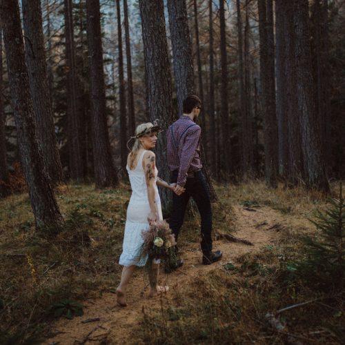 Petra & Jure | Wedding session at Julian Alps