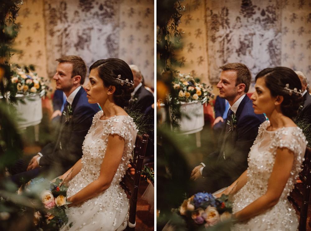 wedding ceremony in fatter cinciano