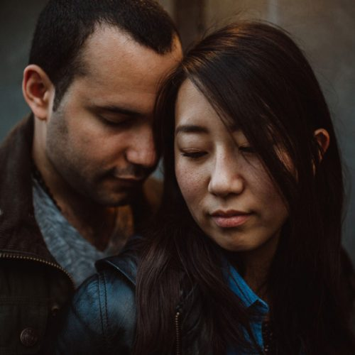 Engagement Session in Greenwich, London  | Nanae & Leandros