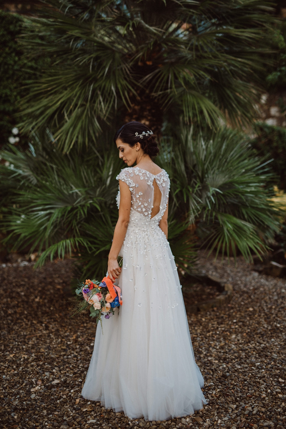 tuscany wedding bride