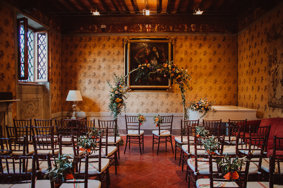 wedding venue in fattoria di cinciano