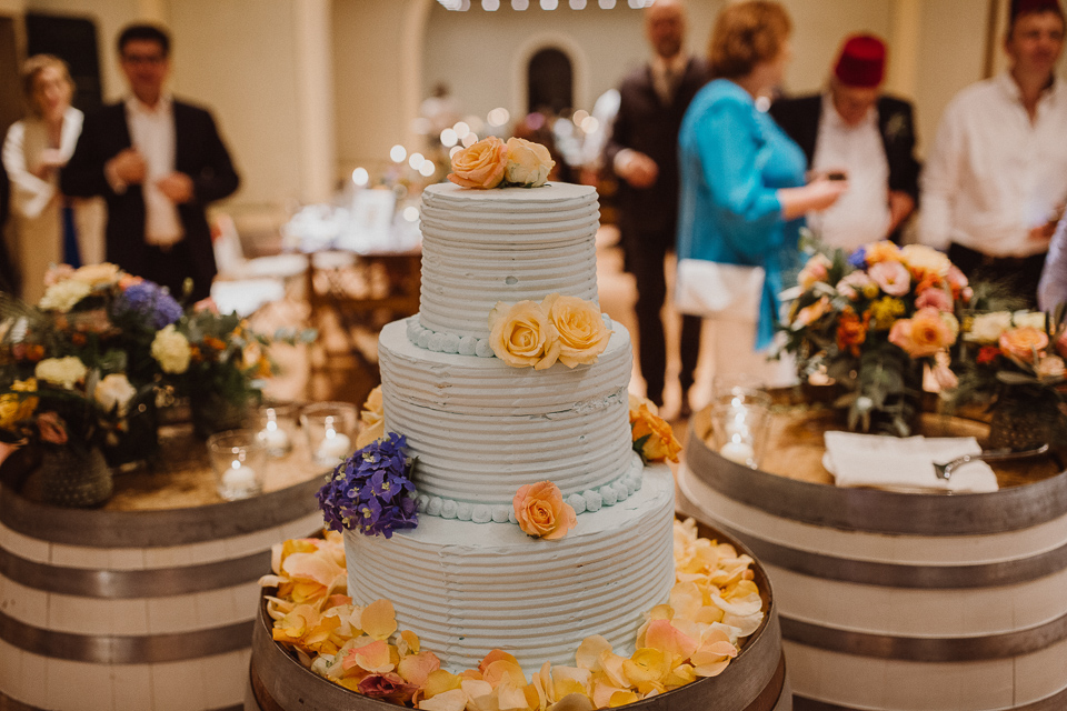 wedding cake fattoria di cinciano