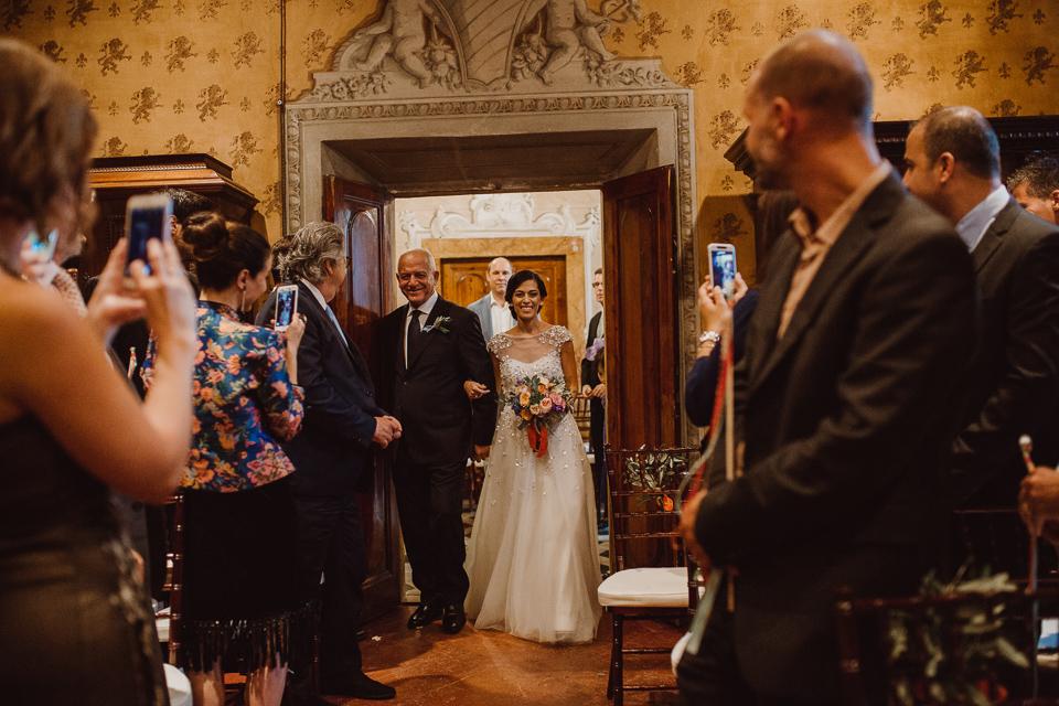 fattoria di cinciano wedding ceremony